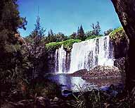 A pciture of Millstream Falls; Widest Waterfall in Australia; Queensland, Australia