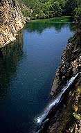 A picture of Barramundi Gorge; Kakadu National Park; Northern Territory, Australia