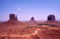 Clint Eastwood Rode Here; Monument Valley Navajo Park; Utah, USA