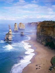 A picture of The Twelve Apostles; The Great Ocean Road; Victoria, Australia
