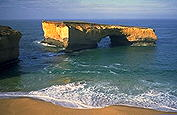 A picture of London Bridge; The Great Ocean Road; Victoria, Australia