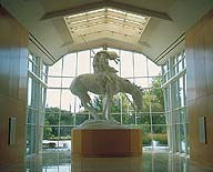 Statue: The Trail of Tears;  Cowboy Hall of Fame;  Oklahoma City, Oklahoma