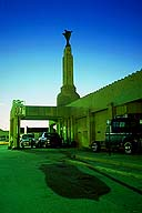 Tower Gas Station; Shamrock, Texas