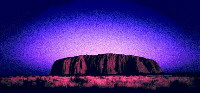 Picture of Uluru (Ayer's Rock) Phases, Northern Territory, Australia