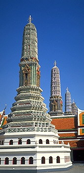 More Phrangs<br>Bangkok, Thailand: The Grand Palace, Bangkok, Thailand : Buildings; Temples.
