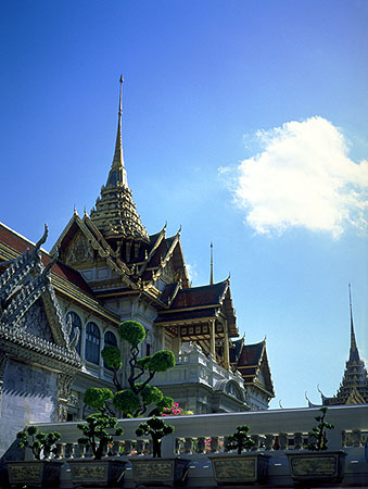 The Grand Palace<br>Bangkok, Thailand: The Grand Palace, Bangkok, Thailand : Buildings; The Grand Palace.