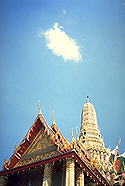 Phrang and a Cloud :: Bangkok, Thailand