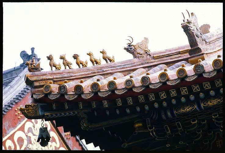 Yonghe Gong<br>The Lama Temple  :: Beijing, China: The Lama Temple, Beijing, People's Republic of China : Buildings; Temples.