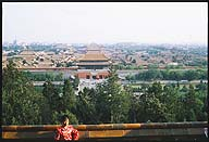 As Viewed from the Peak of Jinshan :: The Forbidden City :: Beijing, China