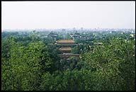 The View North from Jinshan, looking away from :: The Forbidden City :: Beijing, China