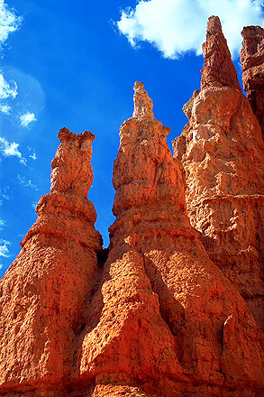 Hoodoos<br>Bryce Canyon National Park<br>Utah, USA: Bryce Canyon National Park, Utah, United States of America : Abstractions; Geological Formations.