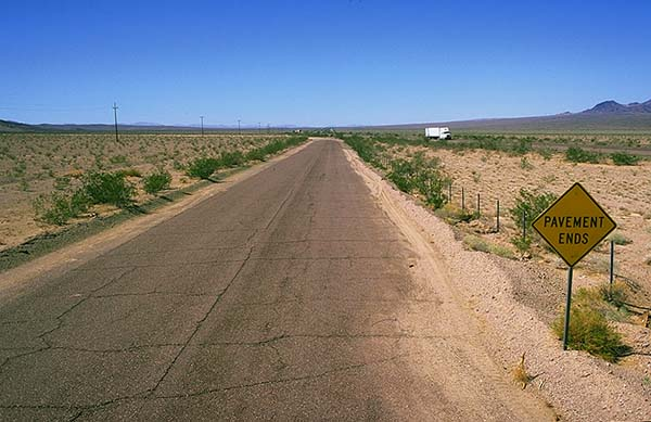 A broken mother<br>Ludlow, California: The Mojave Desert, California, United States of America : On The Road.