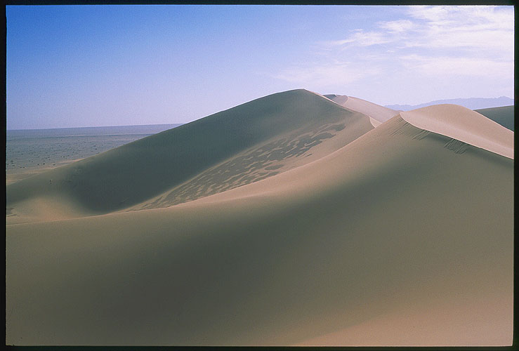 Mingh Sha Shan<br><br>The Mountains of Singing Sands<br>Dunhuang :: Gansu, China: Ming Sha Shan, Gansu, People's Republic of China : Landscapes.