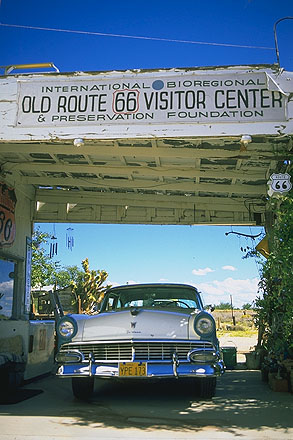 International Bioregional Old Route 66 Visitor Center<br>Hackberry, Arizona: Hackberry, Arizona, United States of America : Museums; Landmarks.