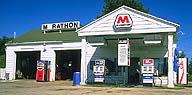 Marathon Oil filling station :: Pearl of the Main Street :: Dwight, Illinois