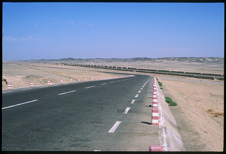 From Jiayuguan to Anxi :: The Desert Opens Up: Jiayuguan to Anxi, Gansu, People's Republic of China : Spoke and Saddle attractions; Landscapes.