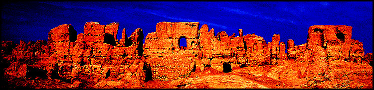 Jiaohe Ruins :: Turpan, Xinjiang: Jiaohe, Xinjiang, People's Republic of China : Ruins and Restorations; Abstractions.