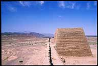 Jiayuguan :: Protecting the Ming Dynasty's Westernmost Extreme :: A beacon tower along the last expanse of Ming Great Wall