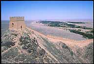 Jiayuguan :: Protecting the Ming Dynasty's Westernmost Extreme :: The Hanging Great Wall