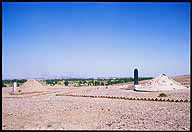 Jiayuguan :: Burial Mounds