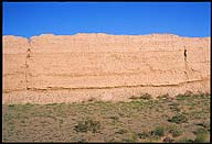 Jiayuguan :: Ming Great Wall :: An excellent example of rammed earth construction :: The Westernmost Extent of the Ming Dynasty