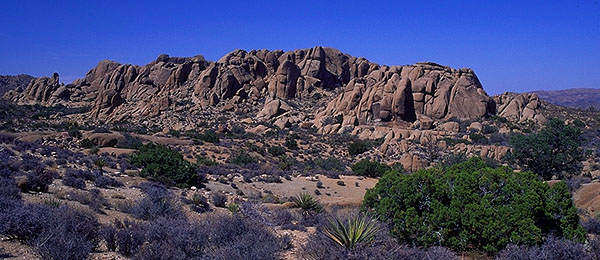 Hidden Valley<br>Joshua Tree National Monument<br>California, USA: Joshua Tree National Monument, California, United States of America : Geological Formations; Landscapes.