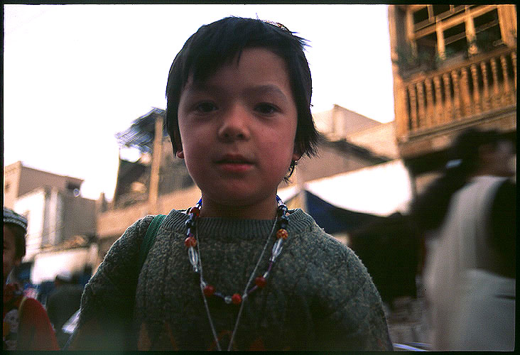 Fresh Young Face<br><br>Kashgar :: Xinjiang, China: Kashgar, Xinjiang, People's Republic of China : People You Meet.