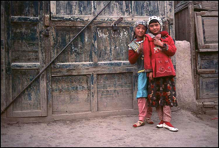 Cute Hearts<br><br>Kashgar :: Xinjiang, China: Kashgar, Xinjiang, People's Republic of China : People You Meet.