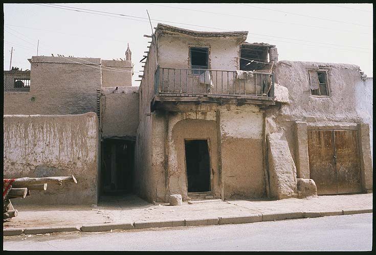 Just some typical buildings in Kashgar.<br><br>Kashgar :: Xinjiang, China: Kashgar, Xinjiang, People's Republic of China : City Scenes.