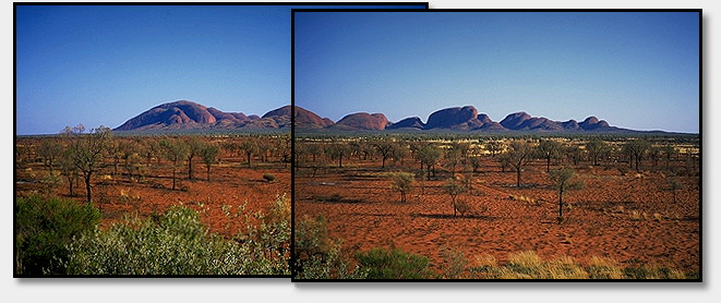 Kata Tjuta (The Olgas)<br>Northern Territory, Australia: Kata Tjuta (The Olgas), Northern Territory, Australia : Geological Formations; Landscapes.