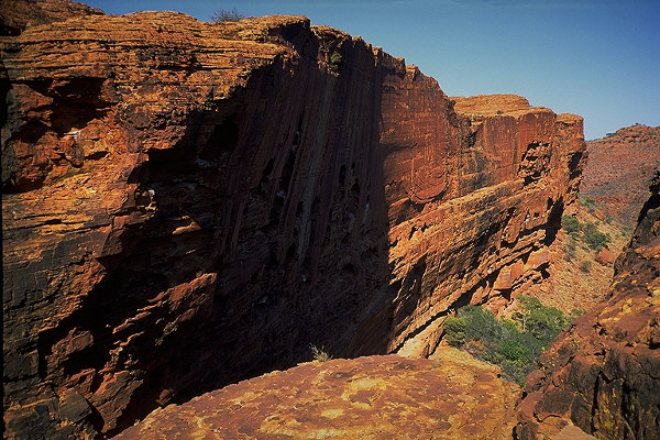 Watarrka (Kings Canyon)<br>Northern Territory, Australia: Watarrka (Kings Canyon), Northern Territory, Australia : The Natural Order; Landscapes.
