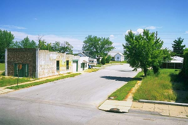 A typical Main Street<br>The lingering shadow of 66<br>Galena, Kansas: Galena, Kansas, United States of America : Towns; On The Road.