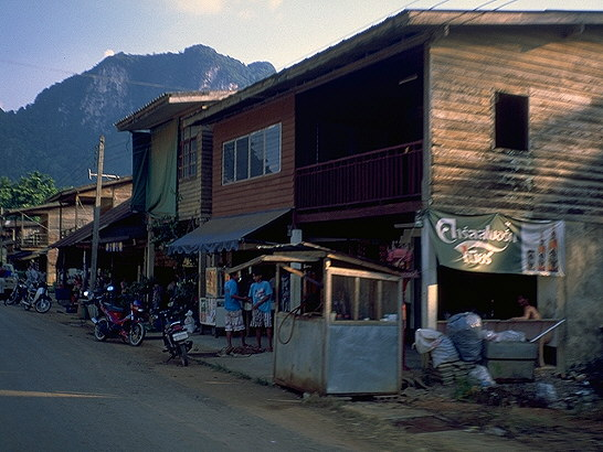 Overland to Coconut Home<br>near Krabi, Thailand: Krabi, Thailand : Buildings; People You Meet.