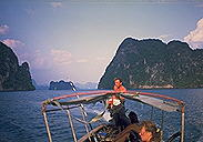 In the Andaman Sea :: near Krabi, Thailand