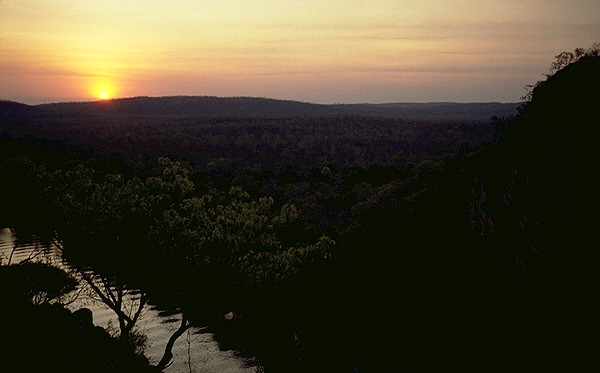 The Katherine River<br>Northern Territory, Australia: The Katherine River, Northern Territory, Australia ; Rivers.