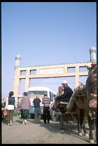 The Thursday Market<br>Kuqa :: Xinjiang, China: Kuqa, Xinjiang, People's Republic of China : People You Meet; Bridges.