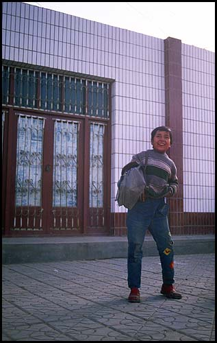Patched Denim!<br>Kuqa :: Xinjiang, China: Kuqa, Xinjiang, People's Republic of China : People You Meet.