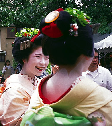 Tendai Goldfish Releasing Ceremony<br>Kyoto, Japan: Kyoto, Japan ; People You Meet.