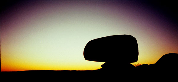 Devils Marbles<br>Northern Territory, Australia: Devils Marbles, Northern Territory, Australia : Abstractions; Sunsets.