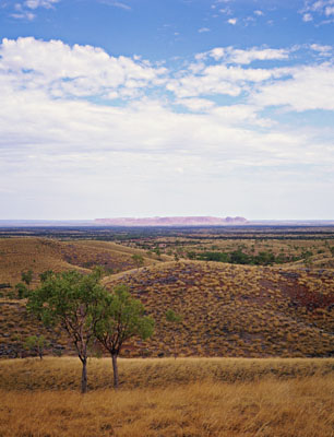 Gosse Bluff<br>Northern Territory, Australia: The Mereenie Loop, Northern Territory, Australia : Landscapes; The Natural Order.