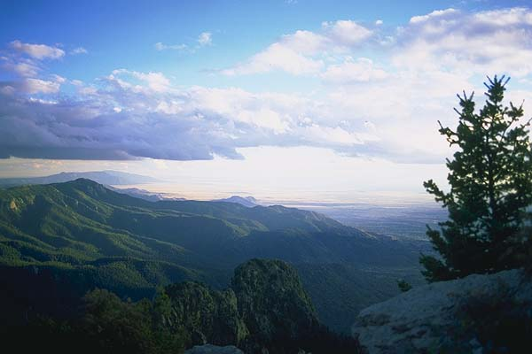 From Sandia Peaks<br>Albuquerque, New Mexico: Albuquerque, New Mexico, United States of America : Landscapes.