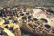 Pueblo Bonito :: A Chaco Canyon Great House :: Near Thoreau, New Mexico