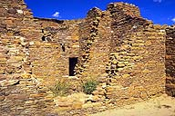 Chetro Ketl masonry :: Chaco Canyon :: Near Thoreau, New Mexico