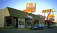 Pop Hick's and a Corvair :: Clinton, Oklahoma