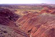 Bluffs Edging :: the Painted Desert :: Petrified Forest National Park, Arizona