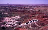 Outlook toward the Painted Desert :: Petrified Forest National Park, Arizona