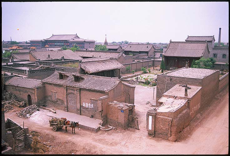 Pingyao :: Shanxi, China: Pingyao, Shanxi, People's Republic of China : Temples; Homes.