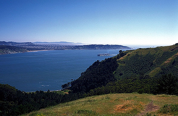 The Outter Bay<br>San Francisco, California: San Francisco, California, United States of America : Coastal Shoreline Scenes; Landscapes.