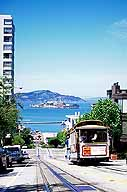 Cable Car :: Descending to Alcatraz :: San Francisco, California