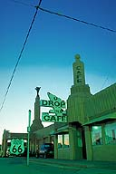 Tower Gas Station and U-Drop-Inn :: Shamrock, Texas